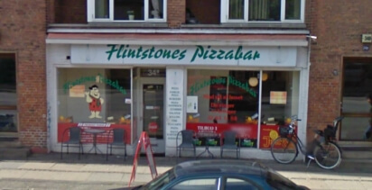 Flintstones Pizza Amager1