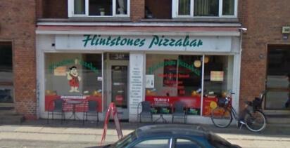 Flintstones Pizza Amager1
